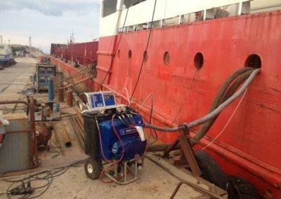 Гидроизоляция корабля в Севастополе 6