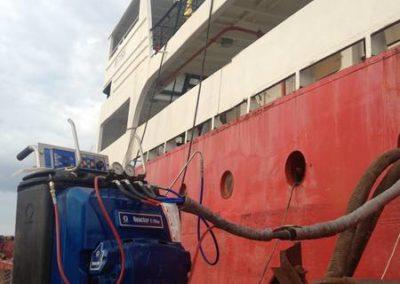 Гидроизоляция корабля в Севастополе 7