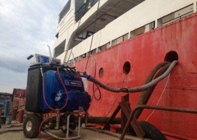 Гидроизоляция корабля в Севастополе 8