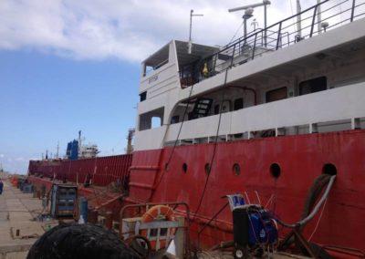 Гидроизоляция корабля в Севастополе 9