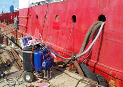 Гидроизоляция корабля в Севастополе 34
