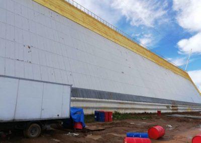 Теплоизоляция и гидроизоляция (РЛС г.Чехов)
