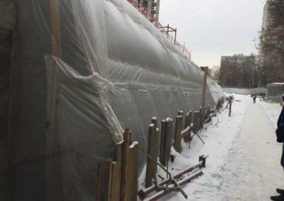 Теплоизоляция и гидроизоляция цокольного этажа (ЖК «Триумфальный») 15