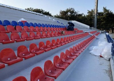 Гидроизоляция стадиона «Олимп» (Кабардинка)