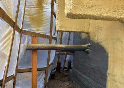 Теплоизоляция и гидроизоляция цокольного этажа (ЖК «Триумфальный») 7