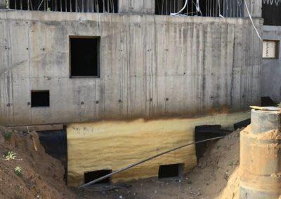 Теплоизоляция и гидроизоляция цокольного этажа (ЖК «Триумфальный») 5