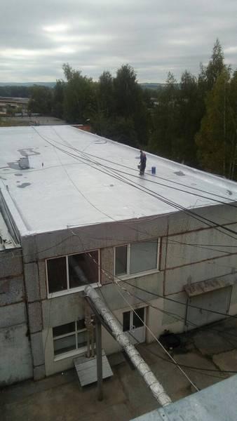 Гидроизоляция плоской кровли (Дмитровский завод) 3