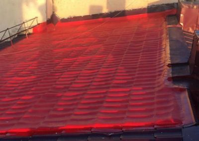 Тепло- и гидроизоляция кровли (Grand Marine, г.Сочи)