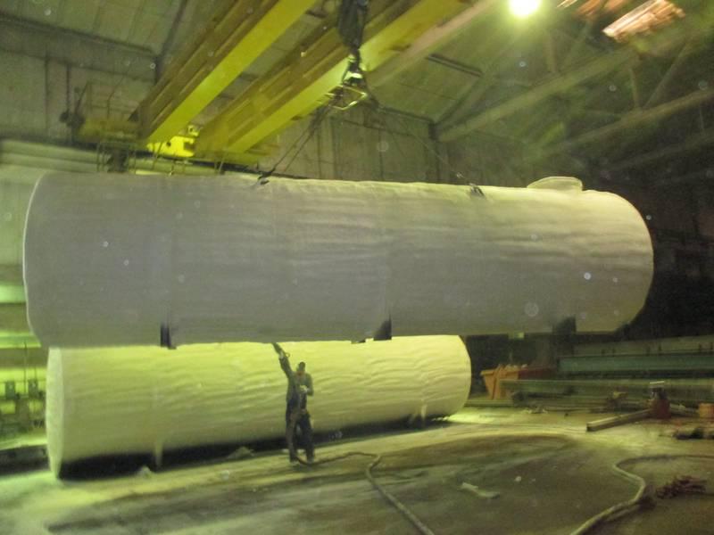 Теплоизоляция промышленных емкостей