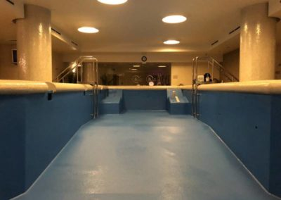 Гидроизоляция бассейна (SPA комплексе отеля Mamaison All-Suites Spa Hotel Pokrovka 5*)