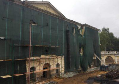 Теплоизоляция и гидроизоляция (усадьба Бобринских)