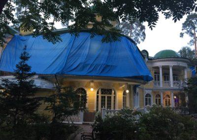 Гидроизоляция веранды (музей-усадьба Архангельское)