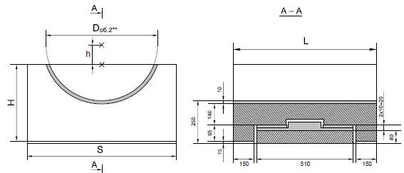 Опорные конструкции железобетонных трубопроводов тепловых сетей для канальной прокладки теплопроводов 13