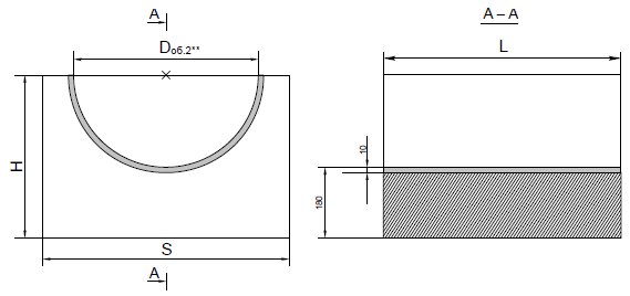 Опорные конструкции железобетонных трубопроводов тепловых сетей для канальной прокладки теплопроводов 16
