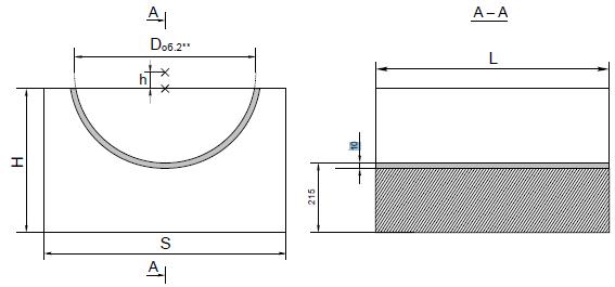 Опорные конструкции железобетонных трубопроводов тепловых сетей для канальной прокладки теплопроводов 20