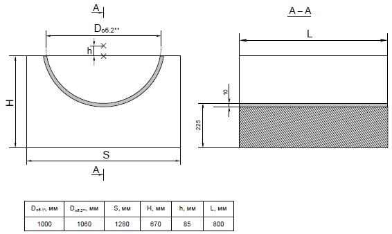 Опорные конструкции железобетонных трубопроводов тепловых сетей для канальной прокладки теплопроводов 22
