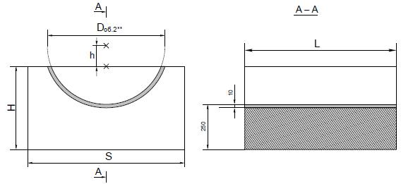 Опорные конструкции железобетонных трубопроводов тепловых сетей для канальной прокладки теплопроводов 25
