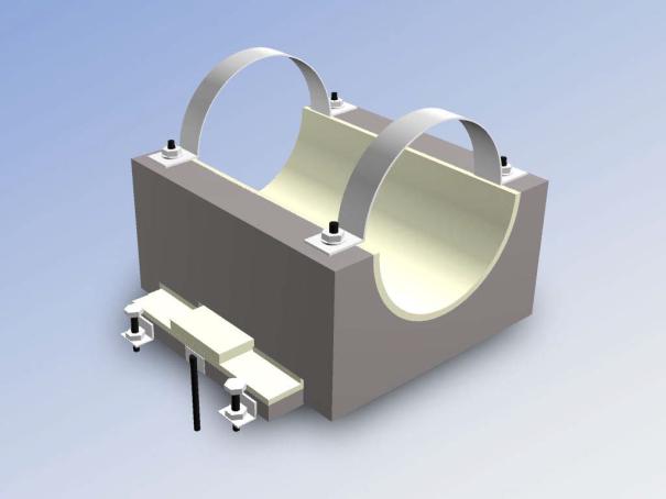 Опорные конструкции железобетонных трубопроводов тепловых сетей для канальной прокладки теплопроводов 2