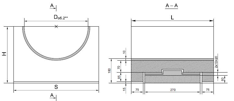 Опорные конструкции железобетонных трубопроводов тепловых сетей для канальной прокладки теплопроводов 3